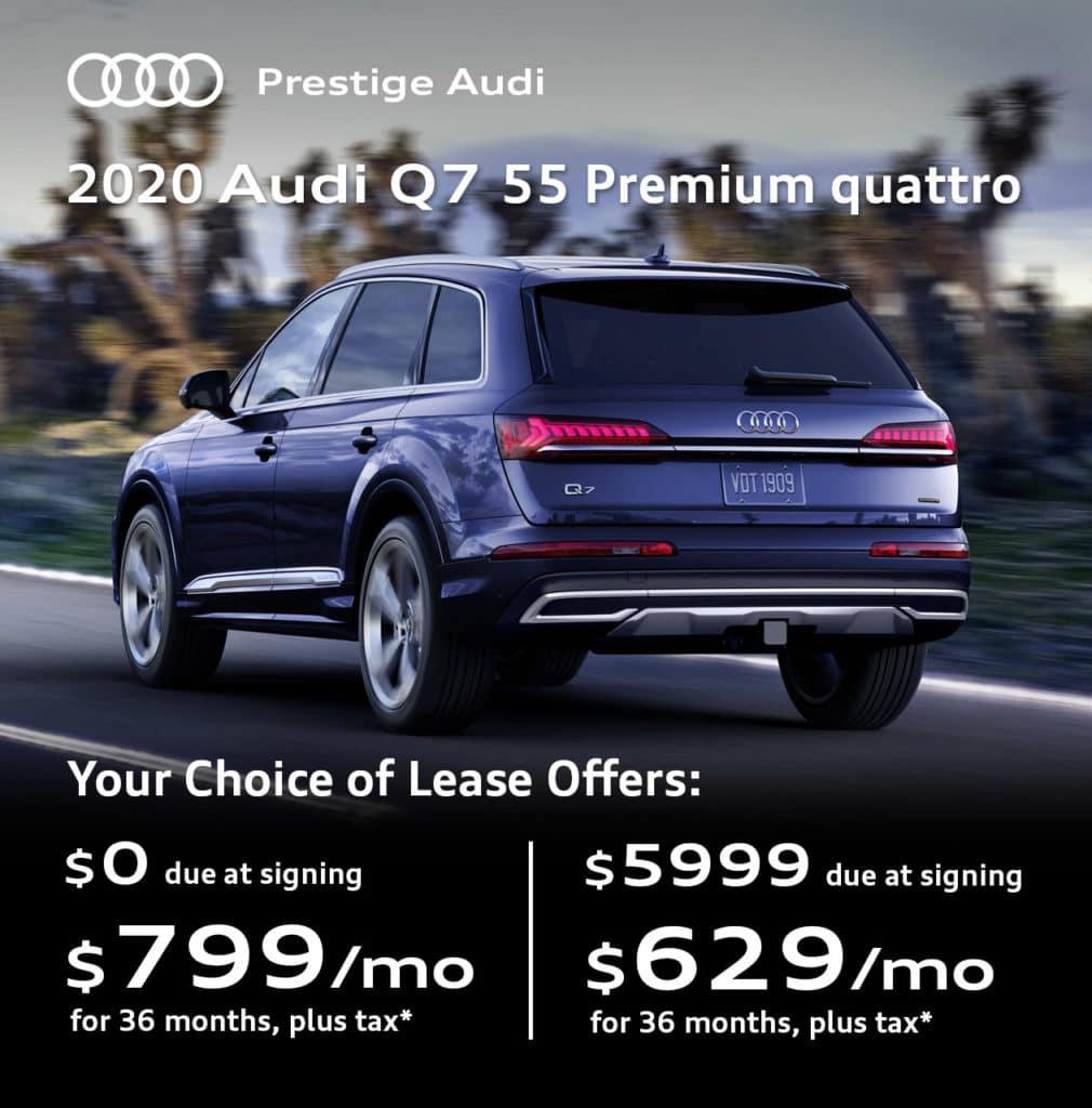 New 2020 Audi Q7 55 Premium quattro