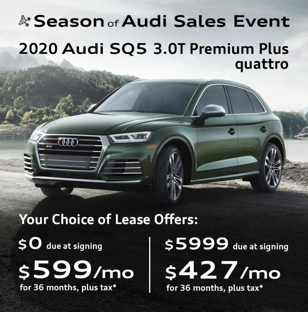 New 2020 Audi SQ5 3.0T Premium Plus