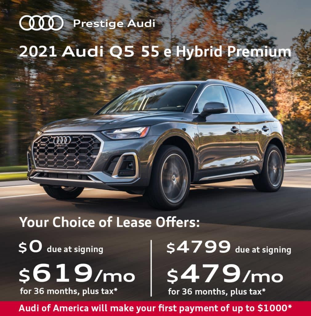 New 2021 Audi Q5 55 e Hybrid Premium quattro