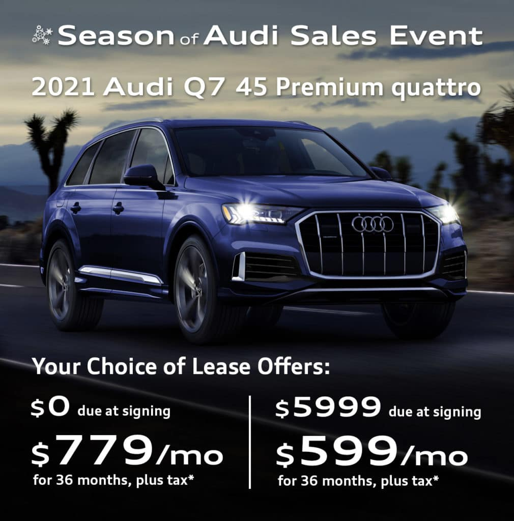 New 2021 Audi Q7 45 Premium