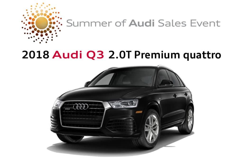 New 2018 Audi Q3 2.0T Premium quattro