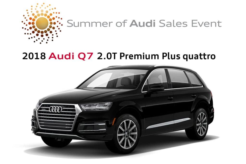 New 2018 Audi Q7 2.0T Premium Plus quattro