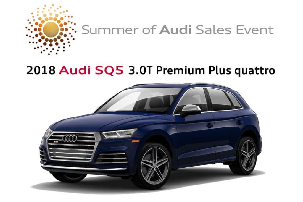 New 2018 Audi SQ5 3.0T Premium Plus quattro