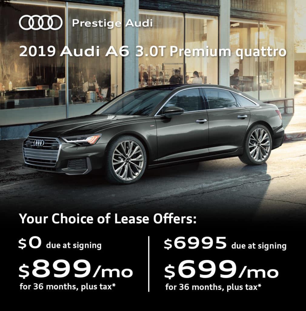 New 2019 Audi A6 3.0T Premium quattro