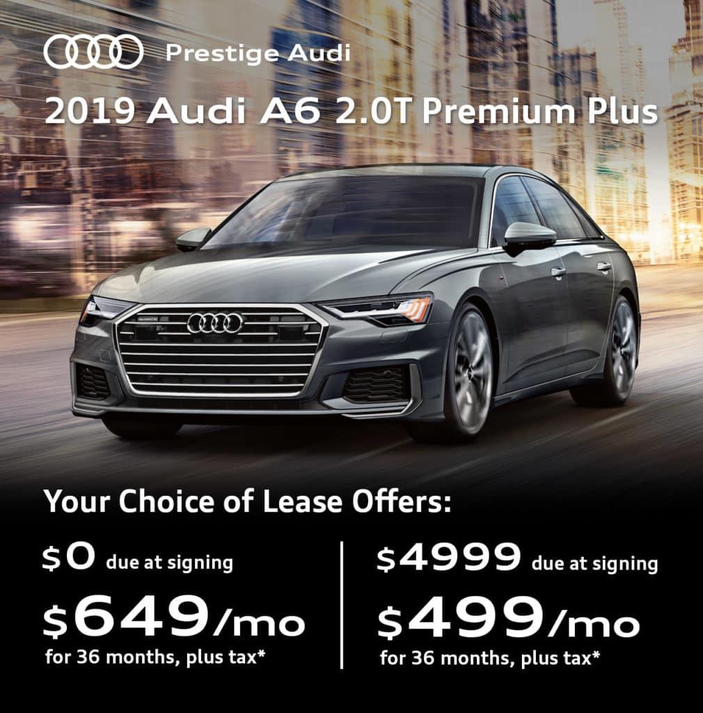 New 2019 Audi A6 2.0T Premium Plus quattro