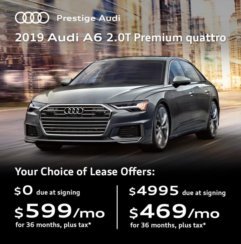 New 2019 Audi A6 2.0T Premium quattro