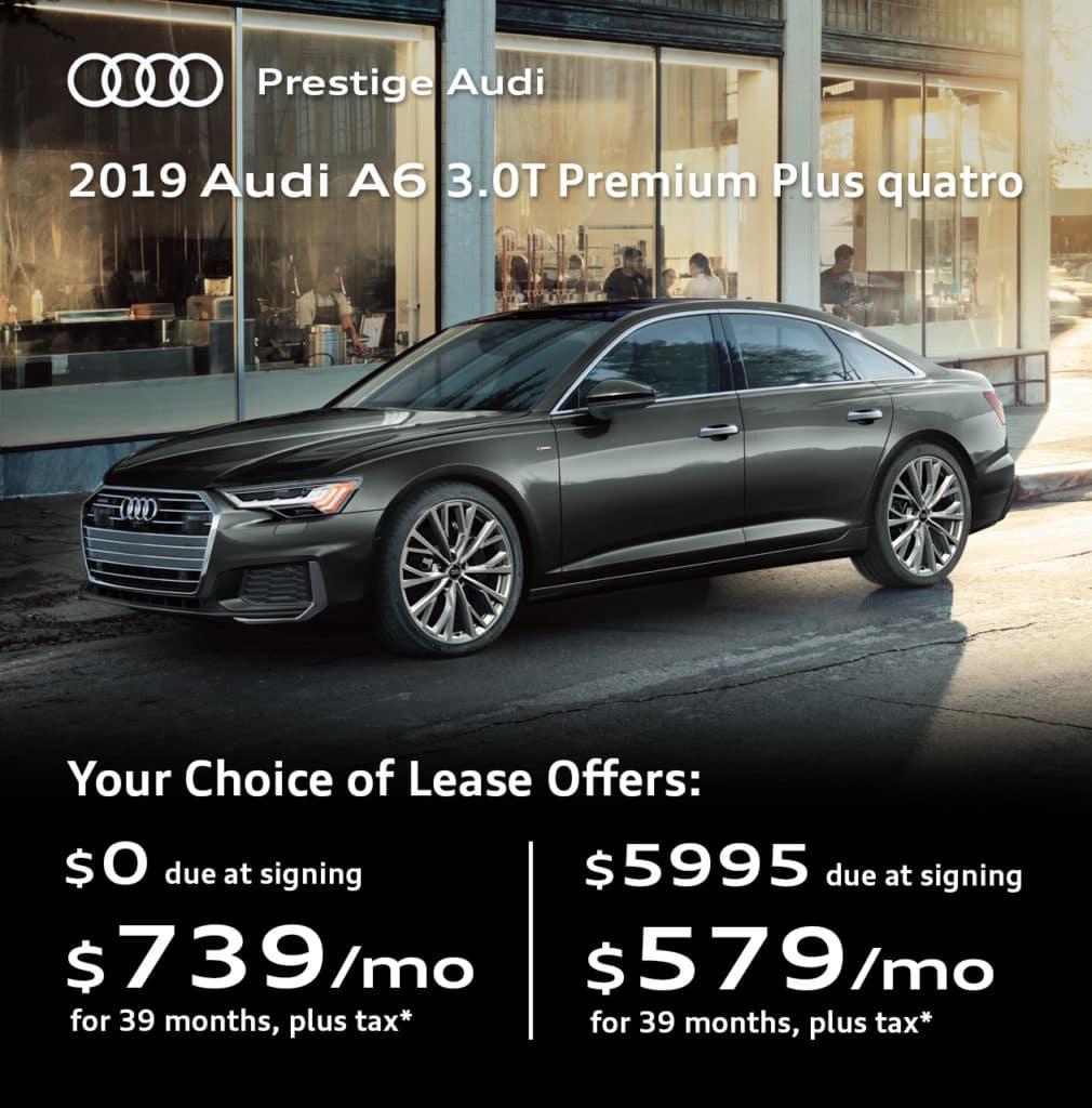 New 2019 Audi A6 3.0T Premium Plus quattro 4D Sedan