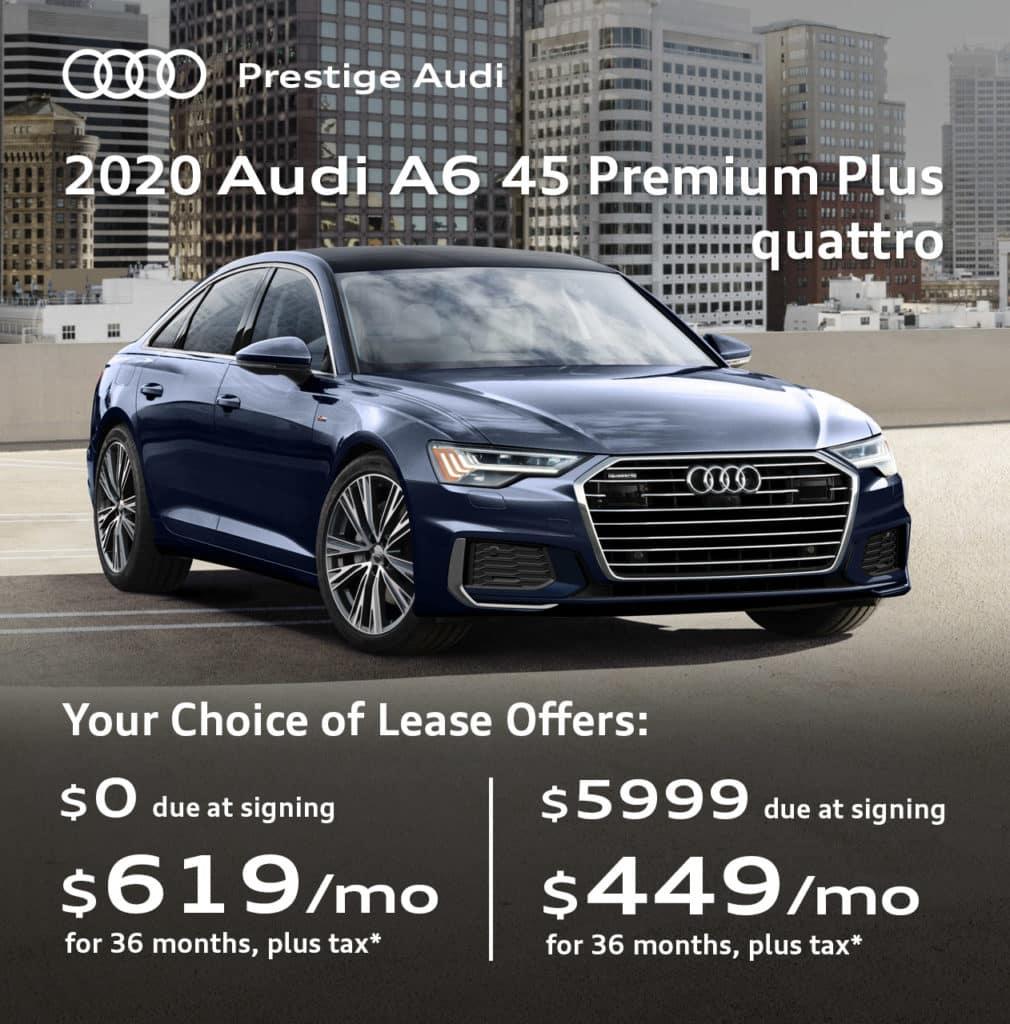 New 2020 Audi A6 45 Premium Plus quattro
