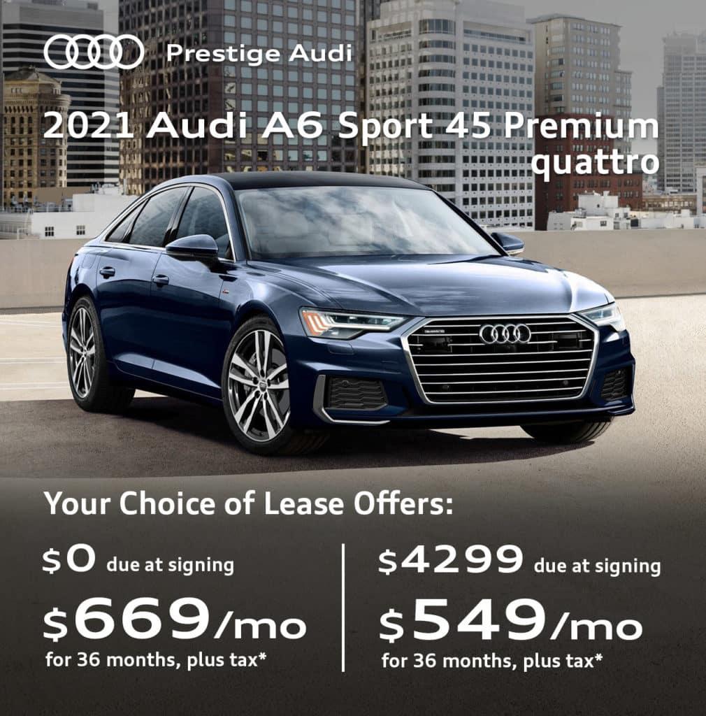 New 2021 Audi A6 45 Sport Premium