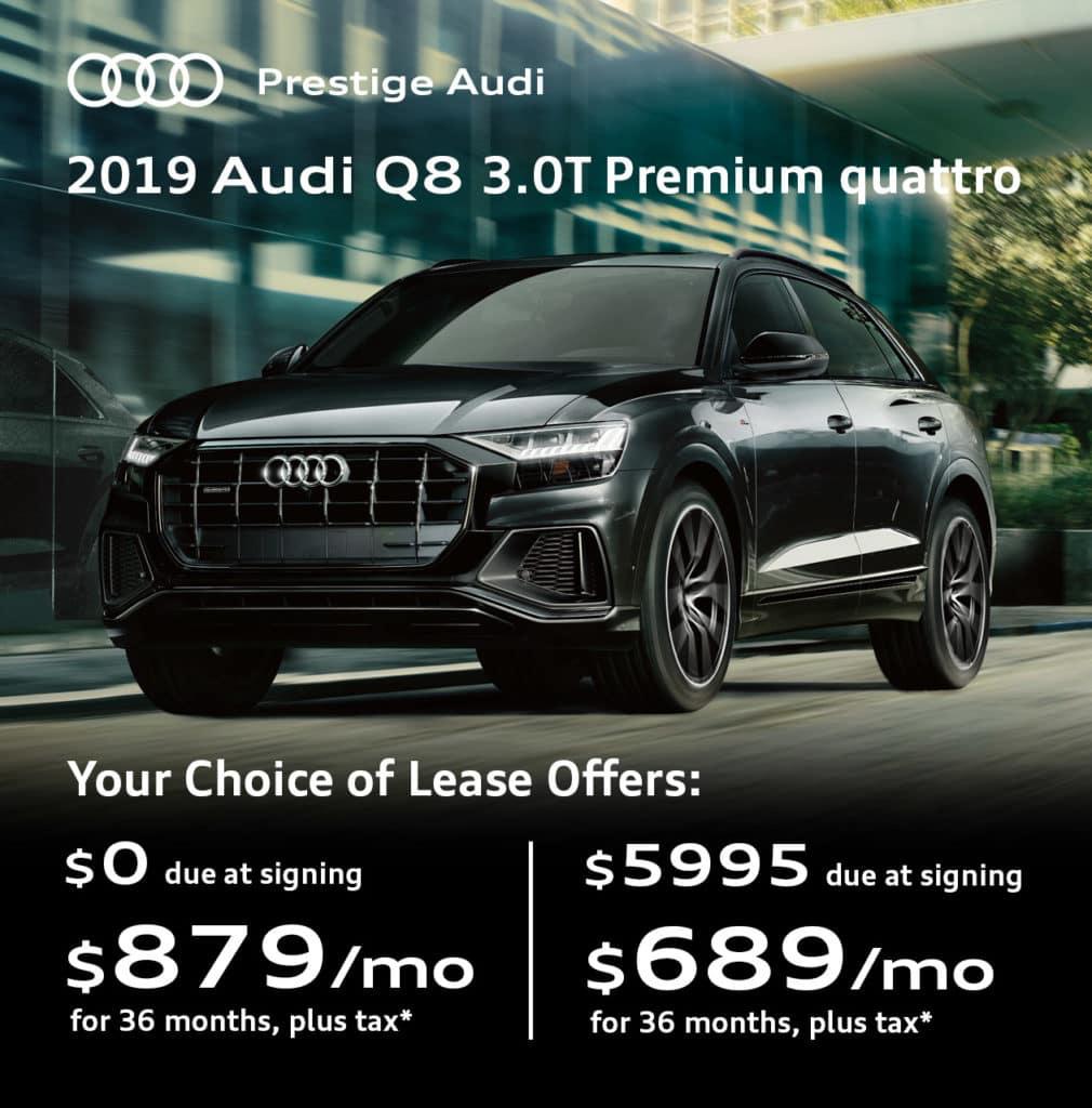 2019 Audi Q8 3.0T Premium Quattro