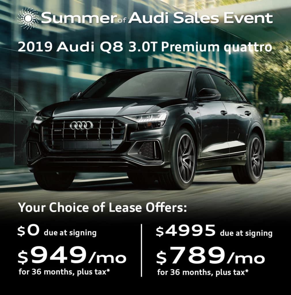 New 2019 Audi Q8 3.0T Premium quattro