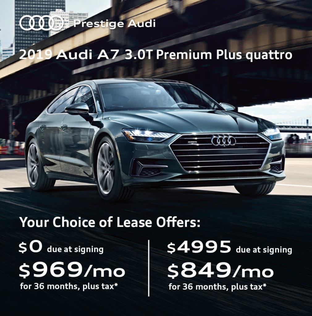 New 2019 Audi A7 3.0T Premium Plus quattro