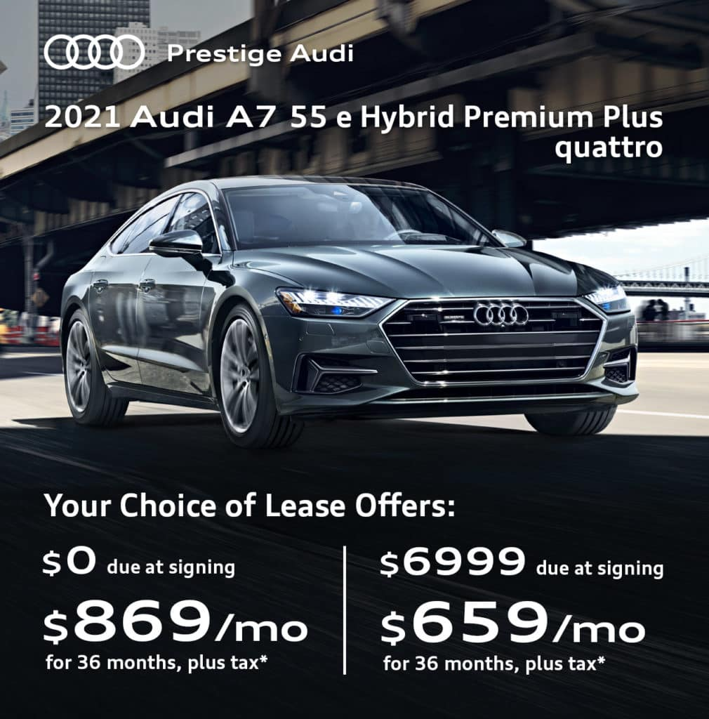 New 2021 Audi A7 55 e Hybrid Premium Plus