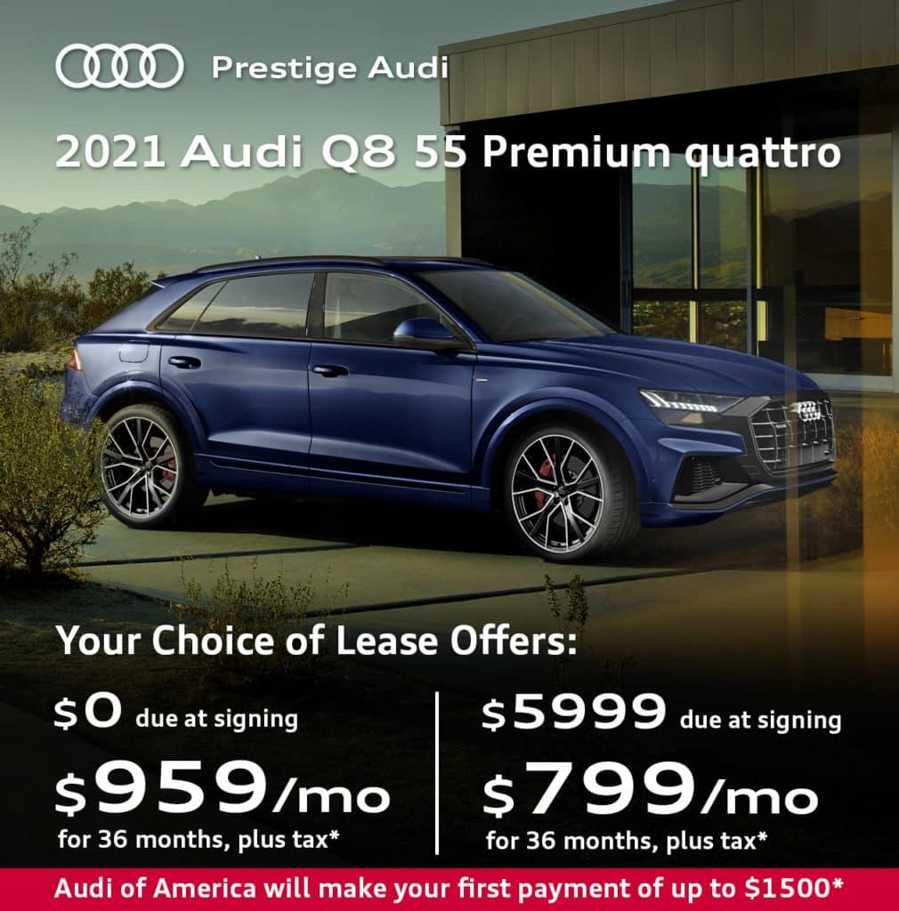 New 2021 Audi Q8 55 Premium