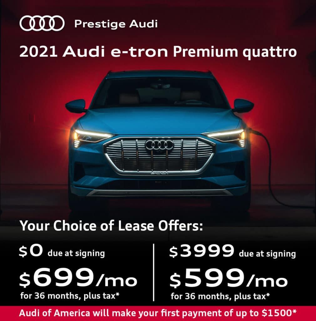 New 2021 Audi e-tron Premium