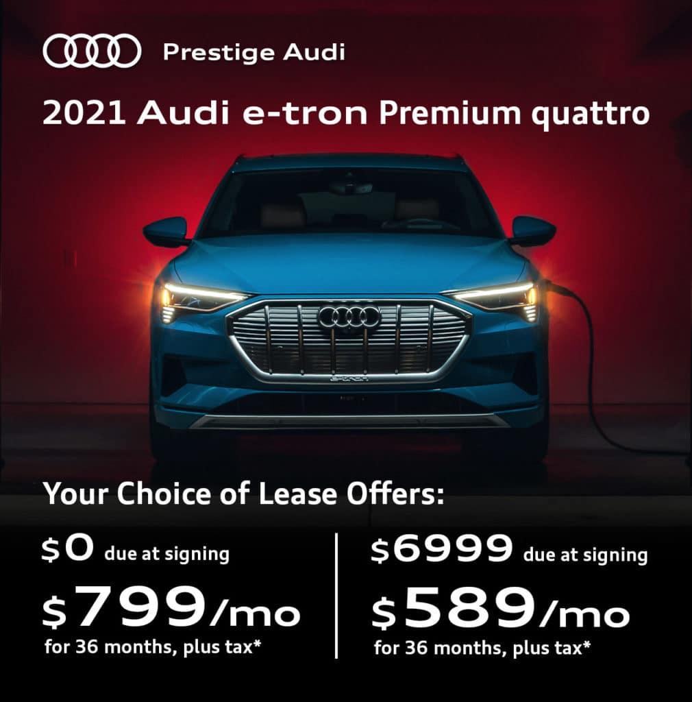 New 2021 Audi e-tron Premium with Navigation