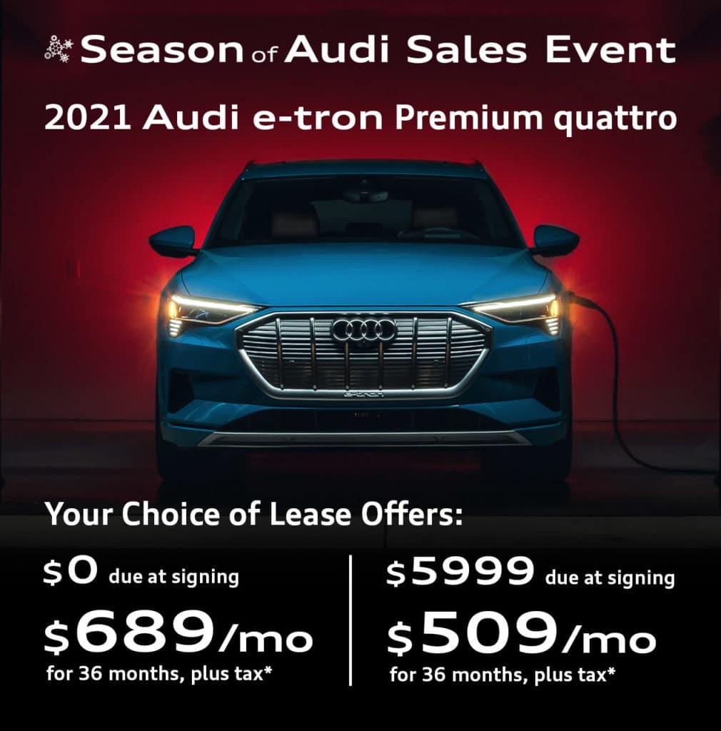 New 2021 Audi e-tron Premium quattro
