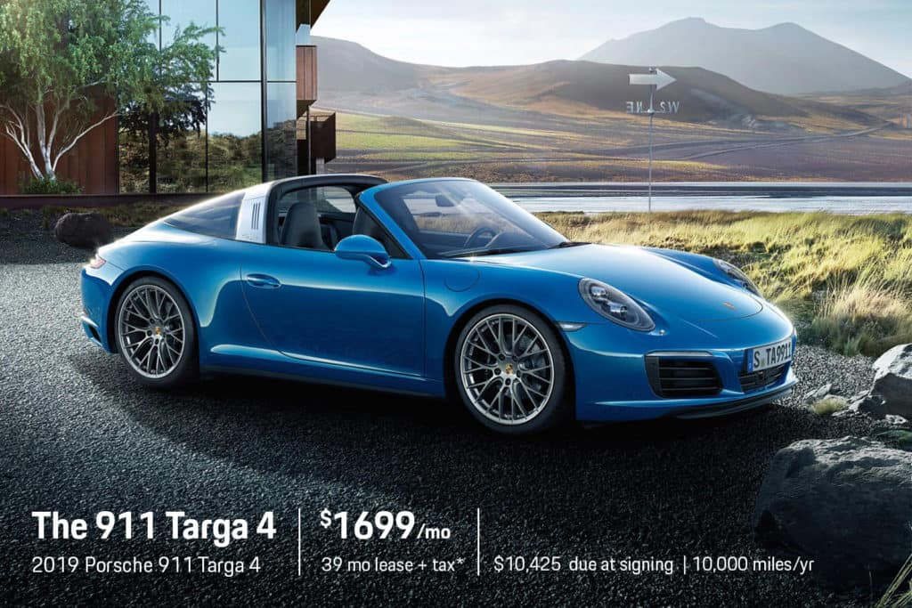 New 2019 Porsche 911 Targa 4