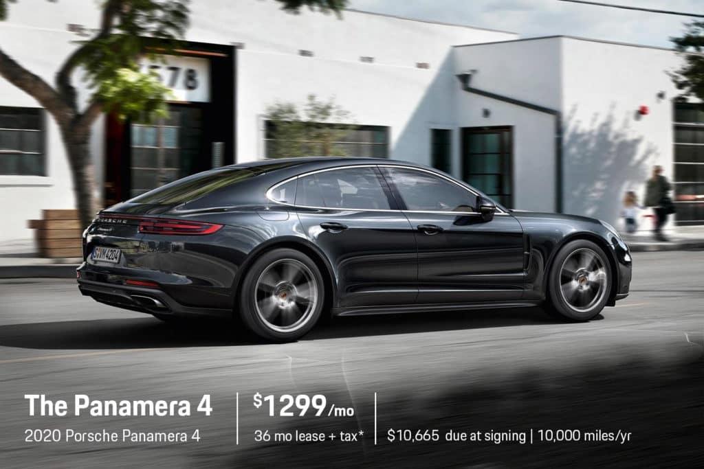 New 2020 Porsche Panamera 4