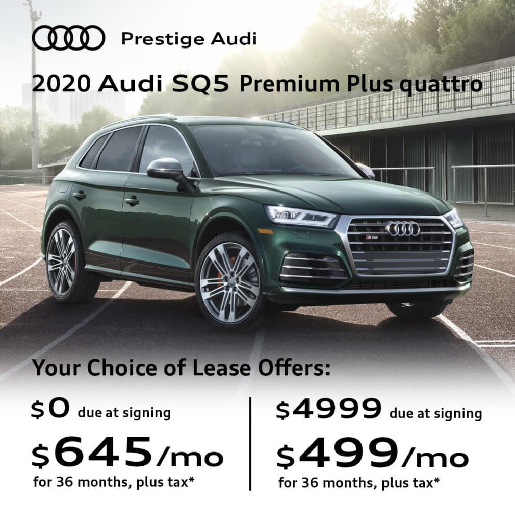 New 2020 Audi SQ5 3.0T Premium Plus quattro