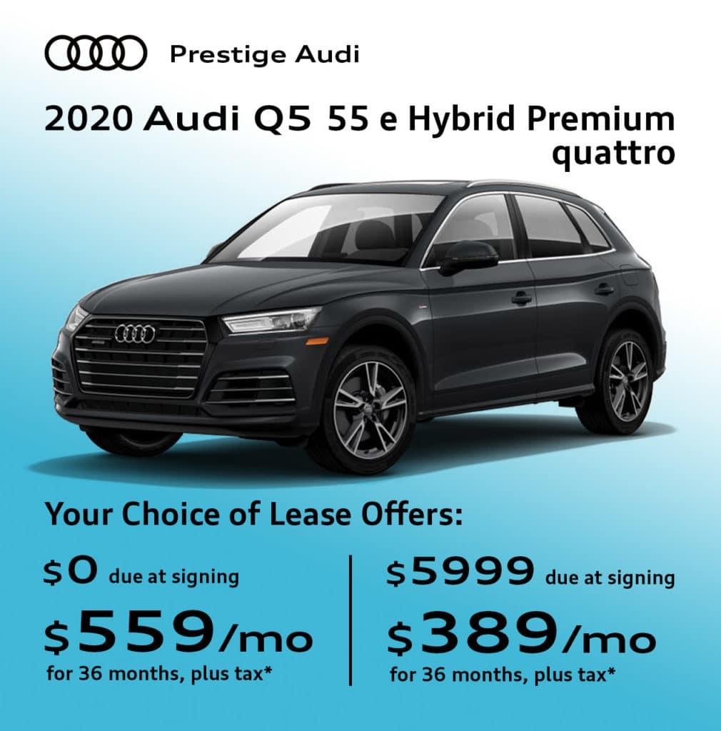 New 2020 Audi Q5 55 e Hybrid Premium