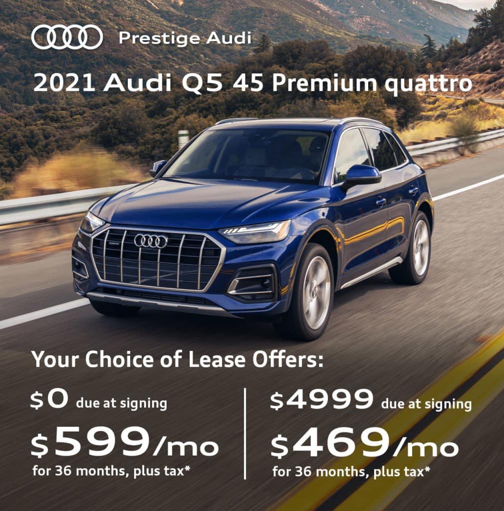 New 2021 Audi Q5 45 Premium quattro