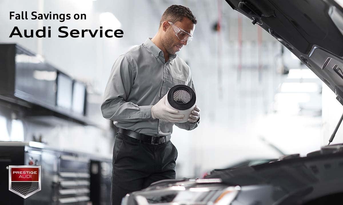 Fall Savings on Audi Service