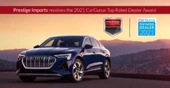 Prestige Imports Receives 2021 CarGurus Top Rated Dealer Award