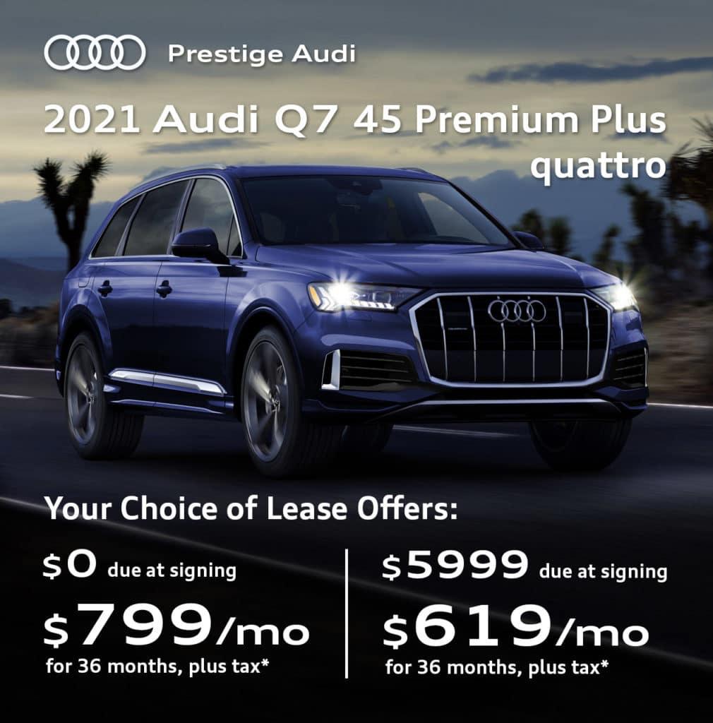 New 2021 Audi Q7 45 Premium Plus