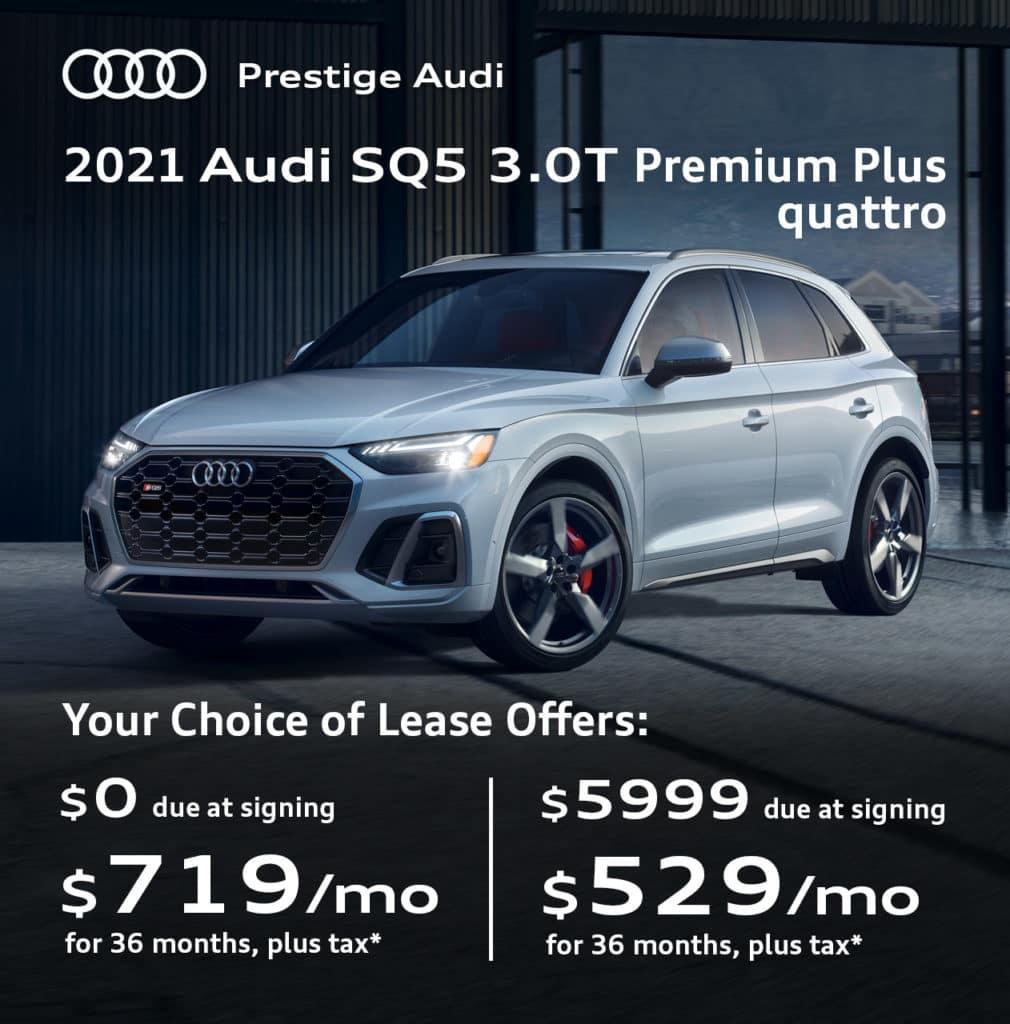 New 2021 Audi SQ5 3.0T Premium Plus quattro