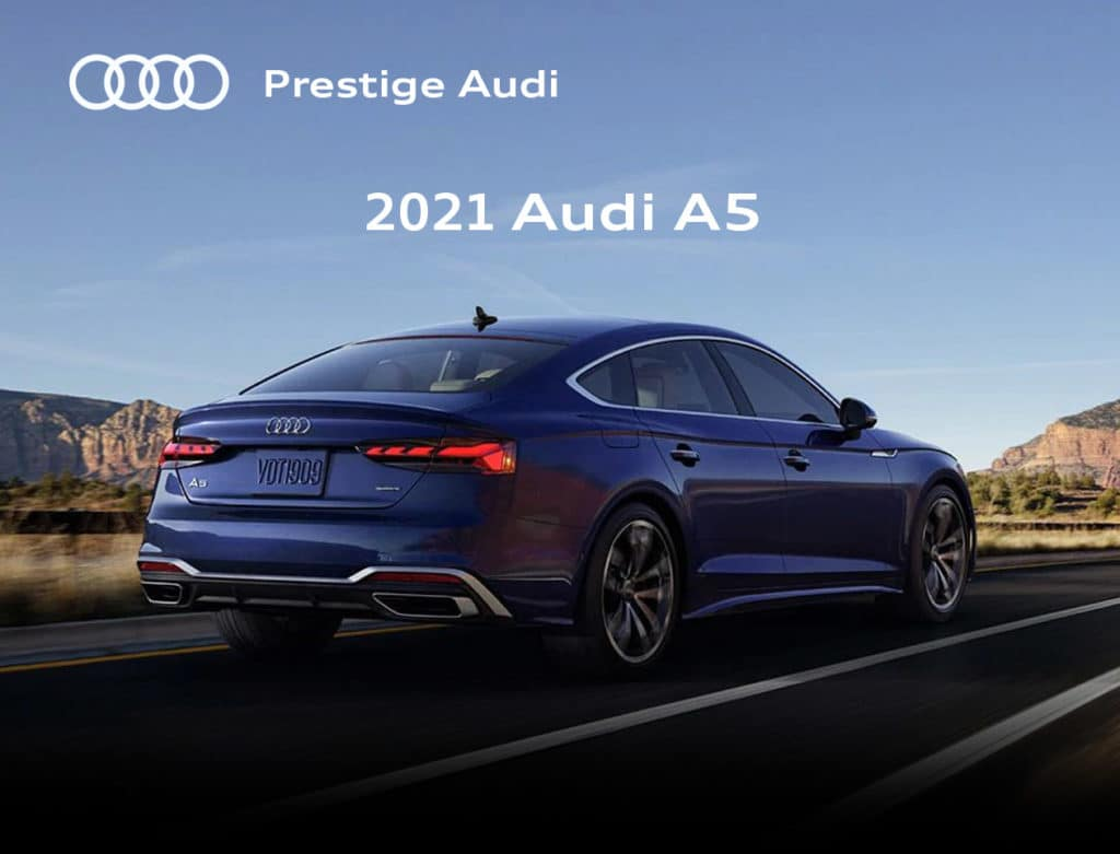 New 2021 Audi A5 Special Offer