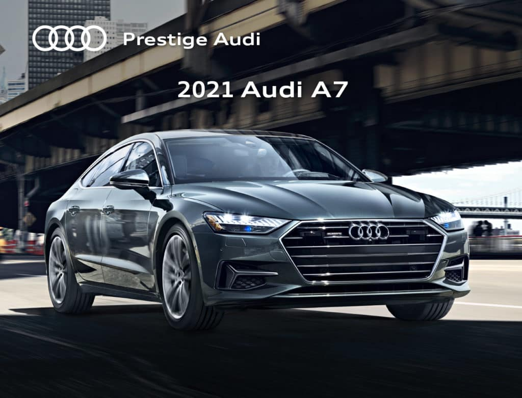 New 2021 Audi A7 Special Offer
