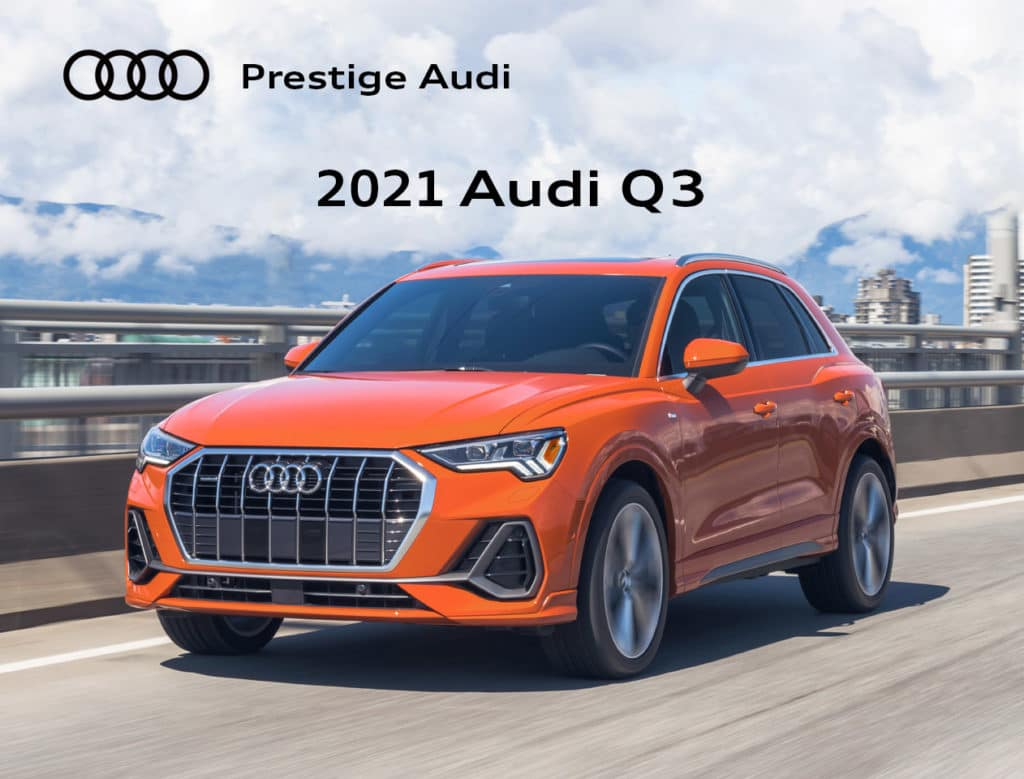 New 2021 Audi Q3 Special Offer