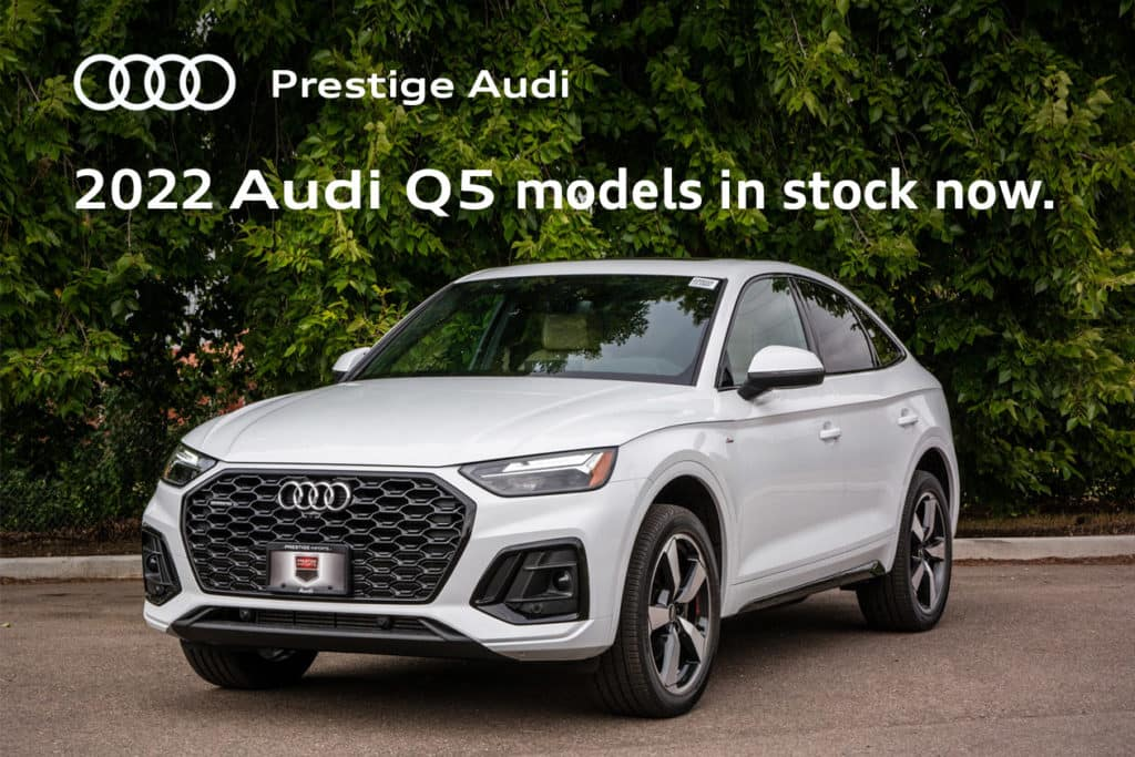 Great selection of Audi Q5 models in stock!