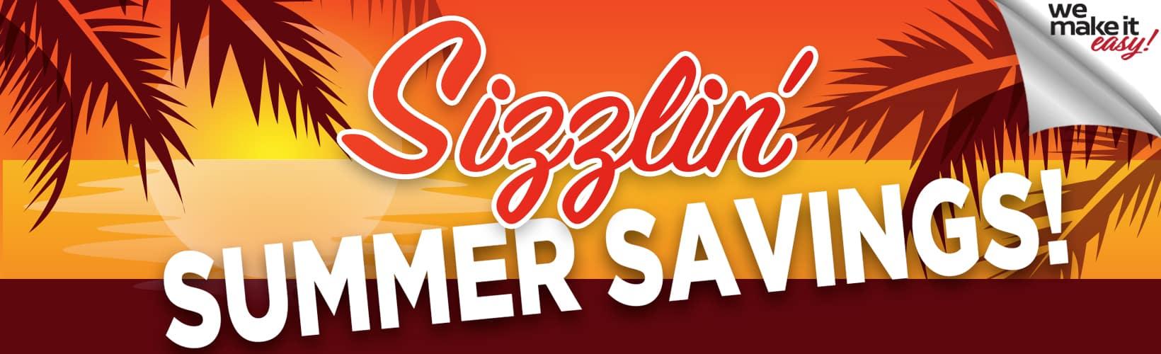 June Savings Banner
