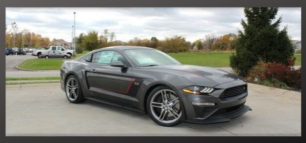 Red Roush Mustang
