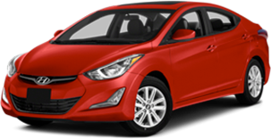 Hyundai elantra red