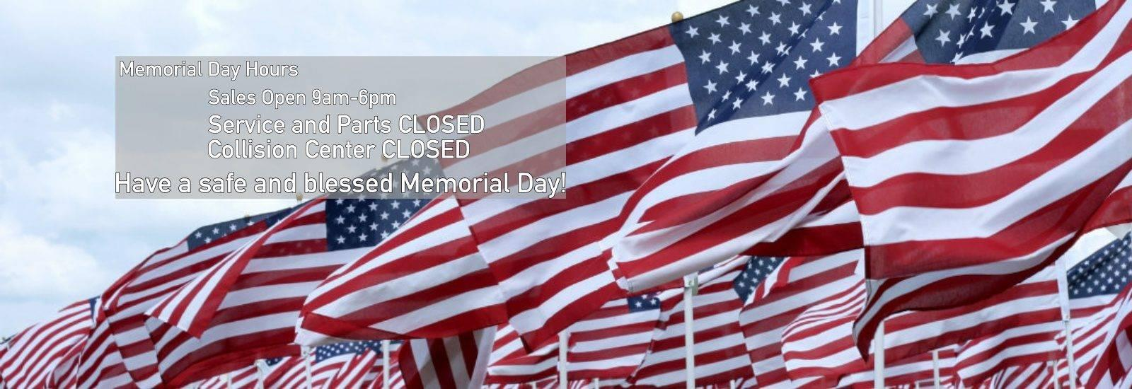 Skillman West Memorial Day Hours
