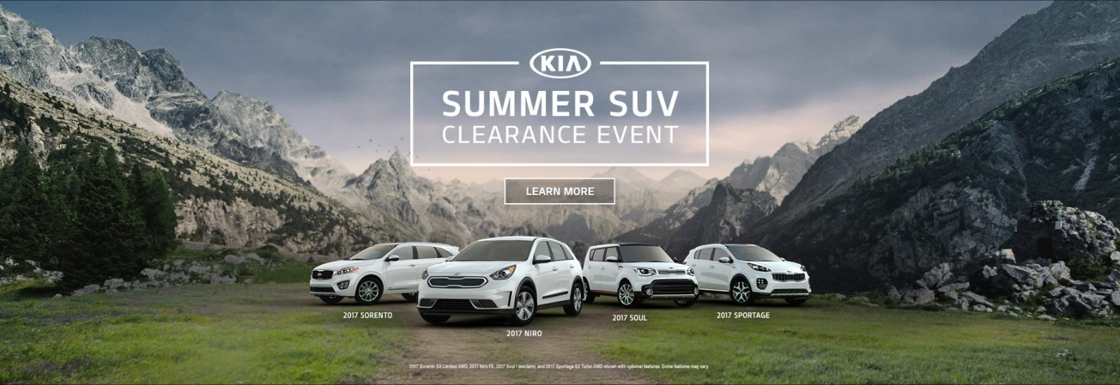 KIA_SALES_MULTIPLE_MY17_SUVCLEARANCE_LEARNMORE_STATIC_1920X614_V1