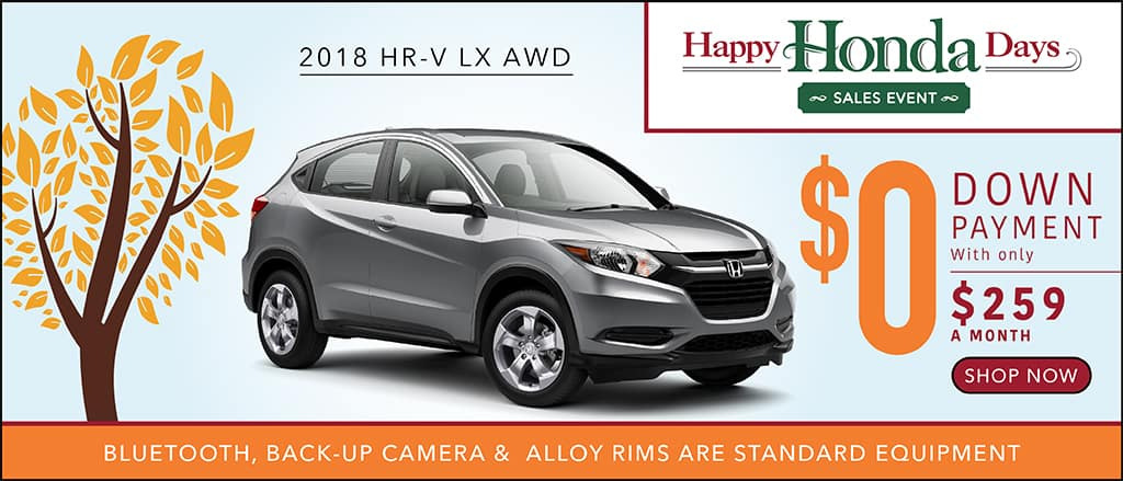 2018 honda lease deals. wonderful deals rates based on 2018 honda hrv lx awd stock 180094 auto with 36 month  12000 mile a year lease at 25900 approved credit for honda deals