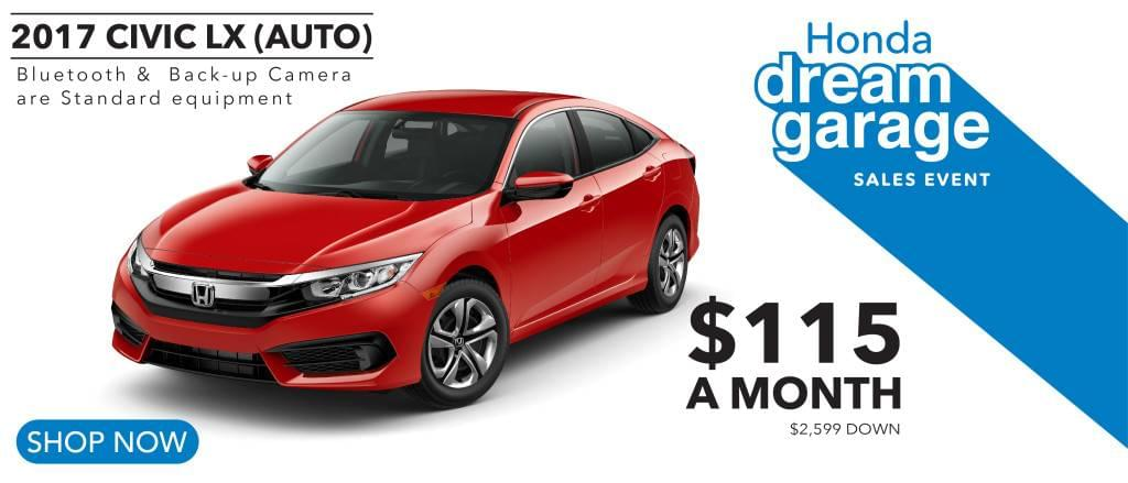 Lease specials rensselaer honda for Honda civic lease offers