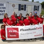 Team Honda Week of Service 1