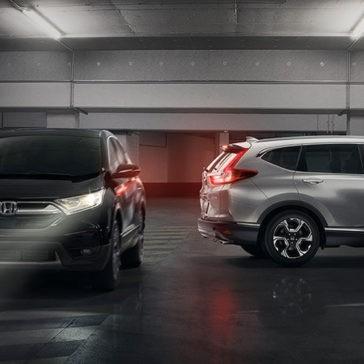 2017 Honda CR-V models