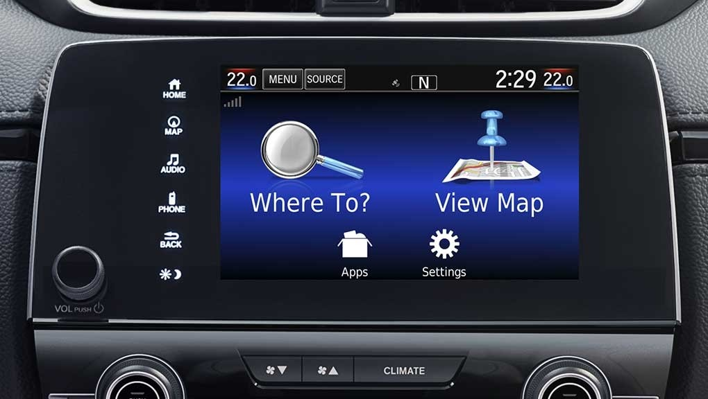 How to Setup & Operate The 2017 Honda CR-V Navigation