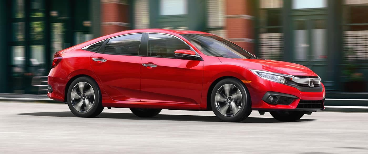2018 Honda Civic Sedan Exterior Side View