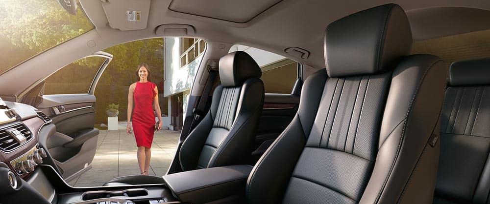 2018 Honda Accord leather seats