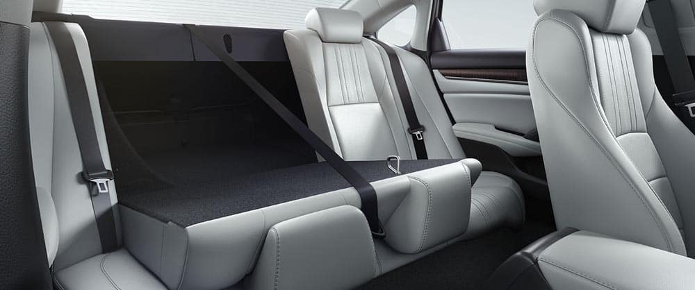 2018 Honda Accord seating features