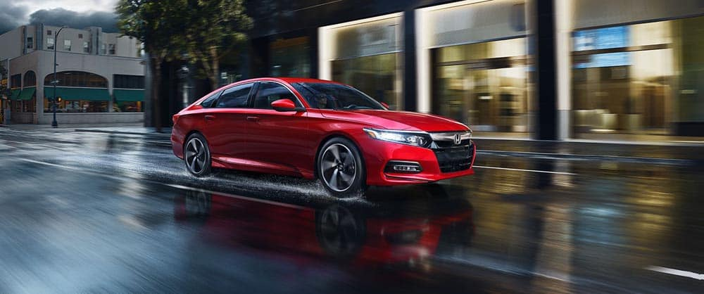 2018 Honda Accord red exterior