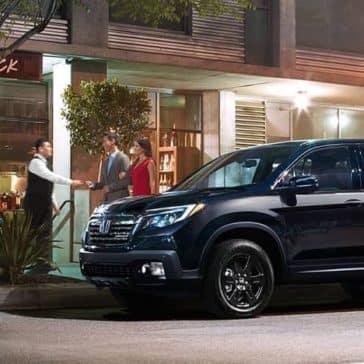 2018 Honda Ridgeline dark exterior