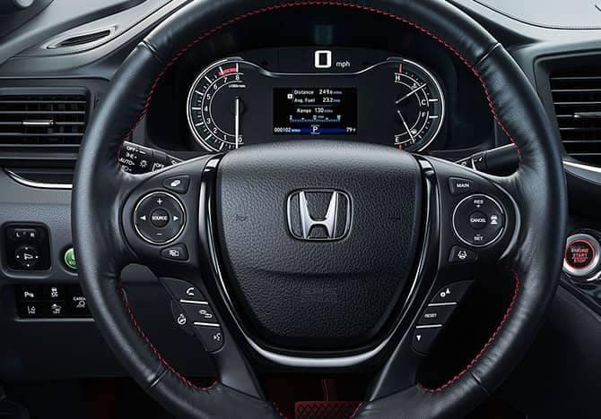 2018 Honda Ridgeline front interior
